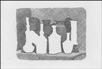 natura morta di vasi su un tavolo by giorgio morandi