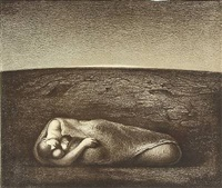 moren (the mother) by odd nerdrum