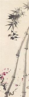 梅竹飞禽 by liu zigu