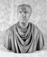 portrait bust by joel tanner hart