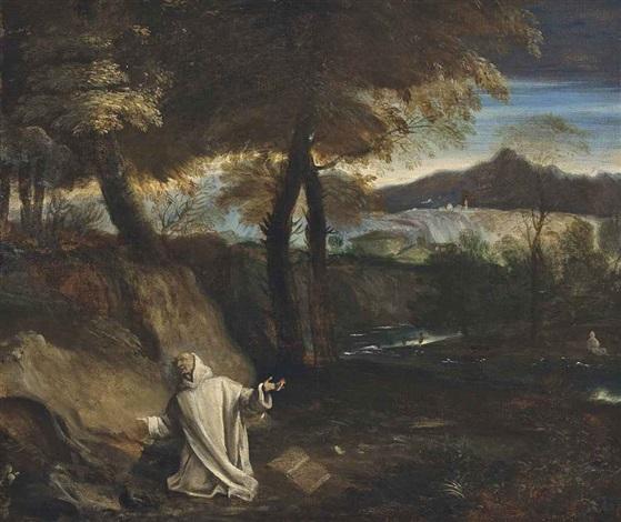 the vision of saint bruno by pier francesco mola