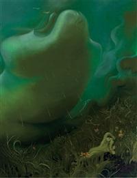 global warming cloud by inka essenhigh