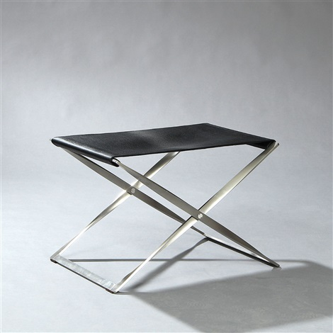 pk 91 folding stool model pj 1492 by poul kjaerholm