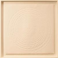 spiralförmige komposition by günther uecker