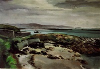 la digue de cherbourg by phillippe hauchecorne