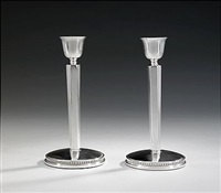 ljusstakar (pair) by ainar axelsson