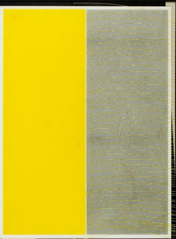 jai alai,composicion en amarillo 1 by jesús rafael soto
