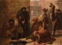 scena biblica by carlo arienti