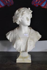 jeune femme à la couronne by george van vaerenbergh