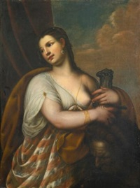 judith with the head of holofernes by alessandro varotari