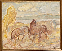 hästar, frösön by acke aslund