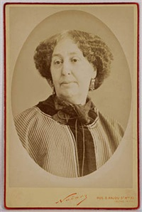 retrato de george sand by nadar