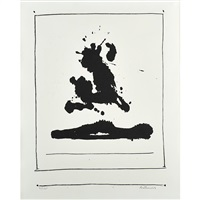 untitled (from new york international) by robert motherwell