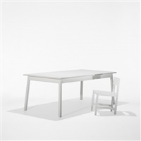 desk and chair (set of 2) by joep van lieshout