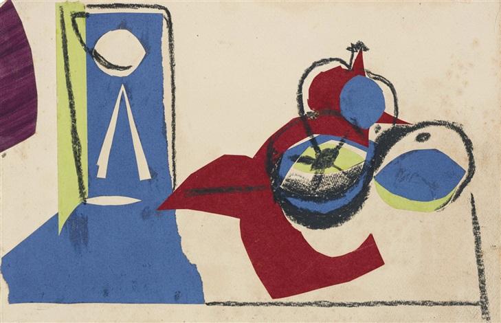 NATURE MORTE AUX FRUITS by Pablo Picasso on artnet