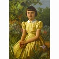 portrait of pauline valentine florence by fernando cueto amorsolo