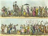 the death of london, or, tom and jerry's funeral by george cruikshank