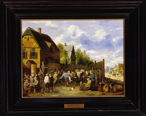 village festival kermess by david teniers the younger