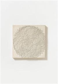 untitled (kreisformation) by günther uecker