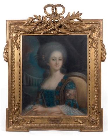 portrait de femme by elisabeth louise vigée le brun