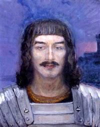 ritari (knight) by yuri il'ich repin