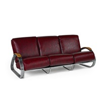 triple band sofa by k.e.m. weber
