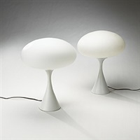table lamps (pair) by laurel lamp (co.)
