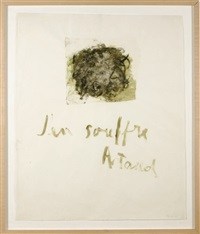untitled (from the artaud series) by nancy spero