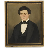 portrait of a young mr. beach by william w. kennedy