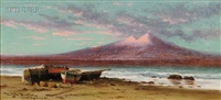 vesuvius from capri by dwight benton