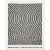 exhibition at richard feigen gallery, new york by bridget riley