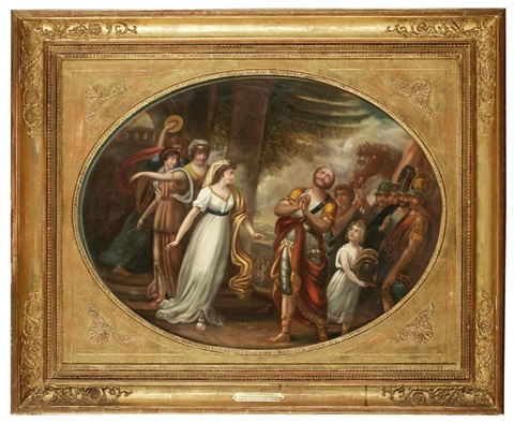 jephtha begegnet seiner tochter by friedrich georg weitsch