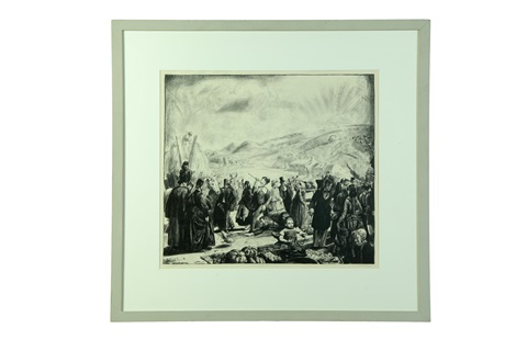the irish fair from the wind bloweth by george wesley bellows