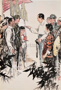 chairman mao is with us by deng chaohua