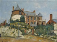 le château by maurice utrillo