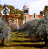 latrun monastery by yehuda armoni