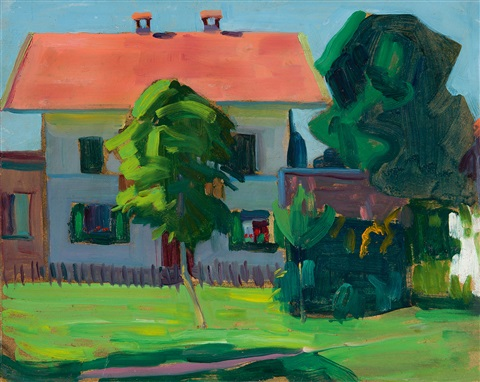 haus in murnau by gabriele münter