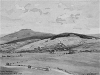 aufenau bei wächtersbach im kinzigtal by oscar becker