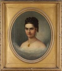 portrait of rebecca tevis hart by nicola marschall