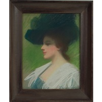portrait of a lady by dixie selden