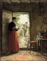 the welcome letter by george hardy