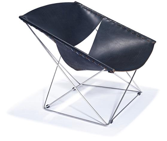 butterfly chair model 675 by pierre paulin on artnet