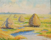 hampton marshes, hampton, new hampshire by elizabeth g. jewell