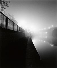 river walk, bath, england by michael kenna