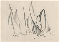 yachts by charles sheeler