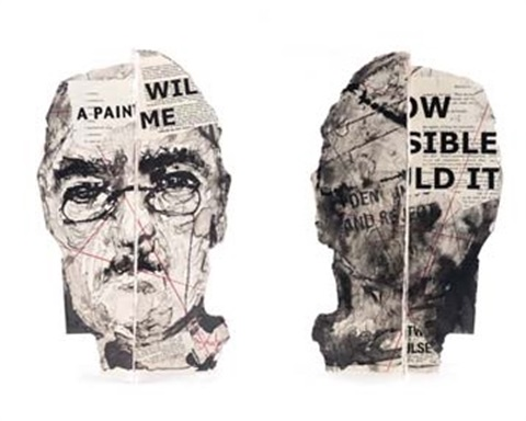 head i self portrait by william kentridge