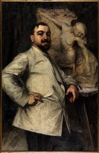 scultore al lavoro by antonio argnani
