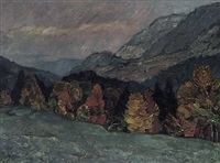 herbstfarben by ludwig bolgiano