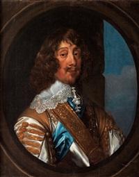 henry rich, (1590-1649) förste earlen av holland, midjebild by william dobson