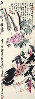 花鸟 by liang qi